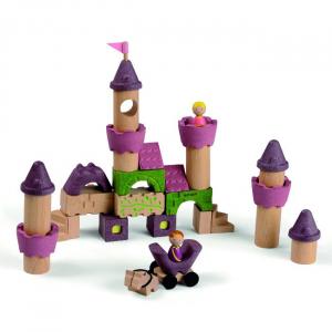 Fairy Tale Blocks - Set de constructie castel si figurine2